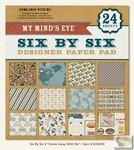 My Minds Eye - Six by Six Paper Pads - Come Away With Me Six by Six Pad