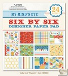 My Minds Eye - Six by Six Paper Pads - Play Date Six by Six Pad