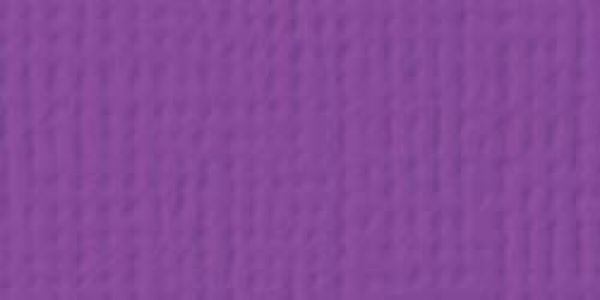American Crafts - Cardstock - Linen Weave - Grape