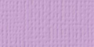 American Crafts - Cardstock - Linen Weave - Lilac