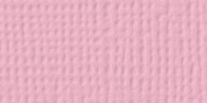 American Crafts - Cardstock - Linen Weave - Blush