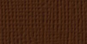 American Crafts - Cardstock - Linen Weave - 12 X 12 - Rocky Road