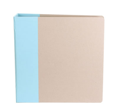 American Crafts - Modern 8.5 x 11 (Portrait) Album - Powder