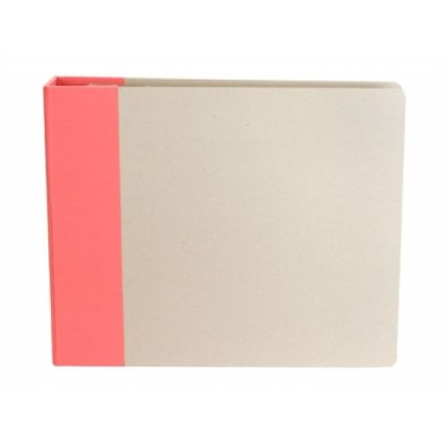 American Crafts - Modern 8 x 8 Album - Raspberry