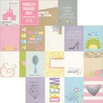 Simple Stories - Enchanted - 3x4 Journaling Card Elements