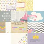 Simple Stories - Enchanted - 4x6 Horizontal Journaling Card Elements
