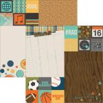 Simple Stories - So Rad - 12 x 12 Double Sided Elements Paper - 2x2 & 6x8 Elements