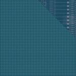 Simple Stories - So Rad - 12 x 12 Double Sided Paper - Navy Houndstooth/Code