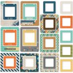 Simple Stories - So Rad - Chipboard Frames
