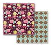 Prima Marketing Inc - So Cute Patterned Paper ARGYLE