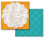 PRIMA MARKETING INC - PAISLEY ROAD CARDSTOCK DANDIYA