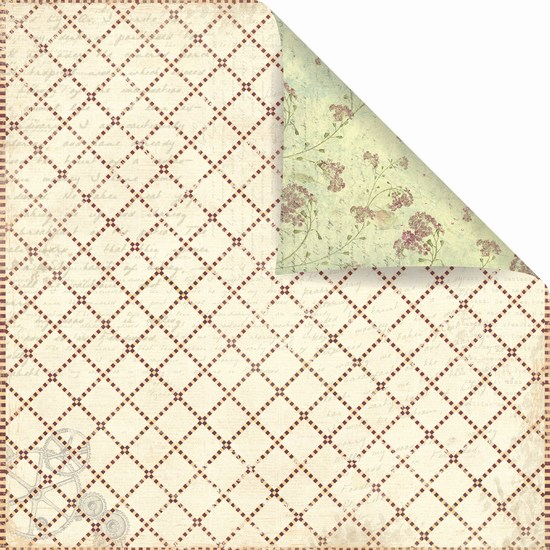 Prima Marketing Inc - Winter 2011 - Botanical Patterned Paper Far Far