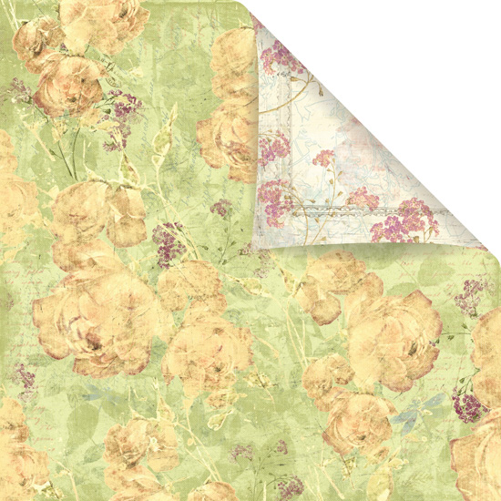Prima Marketing Inc - Winter 2011 - Botanical Patterned Paper Beloved