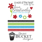 Daisy Bucket Designs - Rub Ons - Bucket