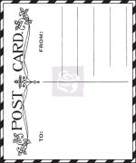"Prima Winter 2013 - Fairy Rhymes - 2.5""x3"" Cling Mount Rubber Stamps"