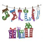 Cheery Lynn Designs Die - Whimsical Christmas 5 Piece Die Set
