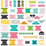Bella Blvd - Illustrated Faith - You Are Loved - Office Tabs 47/Pkg