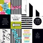"Bella Blvd - Color Chaos Double-Sided Cardstock 12""X12"" - Words Of Wisdom"