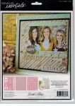 Teresa Collins Designs - Signature Essentials 8x10 Pack of 3 Stencils - Family