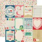 Echo Park Paper Company - Beautiful Life Collection - Journaling Cards Paper