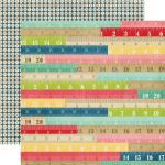 Echo Park Paper Company - Beautiful Life Collection - Rulers Paper