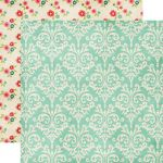 Echo Park Paper Company - Beautiful Life Collection - Damask Paper