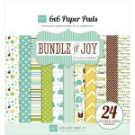 Echo Park Paper Company - Bundle of Joy - Boy - 6x6 Paper Pad