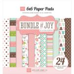 Echo Park Paper Company - Bundle of Joy - Girl - 6x6 Paper Pad