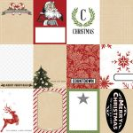 Teresa Collins Designs - Candy Cane Lane Tags Paper