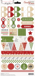 Teresa Collins Designs - Candy Cane Lane - Decorative Stickers