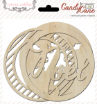 Teresa Collins Designs - Candy Cane Lane - Wood Ornaments