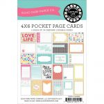 Echo Park Paper Company - Capture Life Collection by Allison Kreft - 4x6 Designer Cards