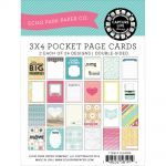 Echo Park Paper Company - Capture Life Collection by Allison Kreft - 3x4 Designer Cards