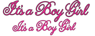 Cheery Lynn Designs Die - It's a Boy, Girl Phrases