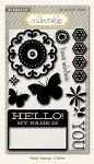 My Minds Eye - Collectable - Hello - Stamps