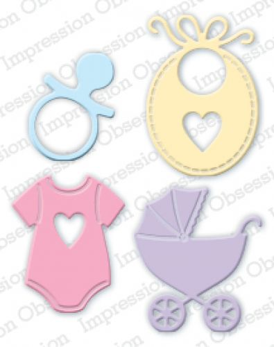 Impression Obsession - Die - Baby Set