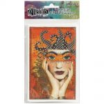 "Ranger - Dylusions - By Dyan Reaveley - Adhesive Canvas 3.375""X5.25"" 8/Pkg - Printed"
