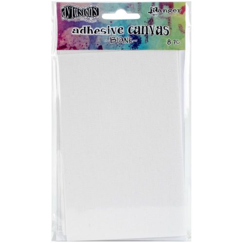 "Ranger - Dylusions - By Dyan Reaveley - Adhesive Canvas 3.375""X5.25"" 8/Pkg - Blank"