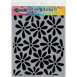 "Ranger - Dylusions - By Dyan Reaveley - Dylusions Stencils 9""X12"" - Spring Bloom"