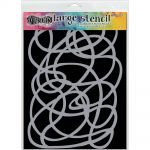 "Ranger - Dylusions - By Dyan Reaveley - Dylusions Stencils 9""X12"" - Squiggle"