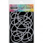 "Ranger - Dylusions - By Dyan Reaveley - Dylusions Stencils 5""X8"" - Squiggle Small"