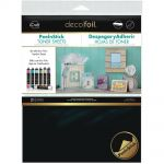 "Therm-O-Web - iCraft - Deco Foil - Iron-On Adhesive Transfer Sheet 5.5""X12"" 5/Pkg"