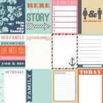 "Teresa Collins Designs - Family Stories - 12x12"" Paper - Notecards"