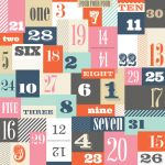 "Teresa Collins Designs - Family Stories - 12x12"" Paper - Numbers"