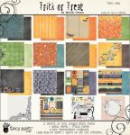"Fancy Pants - Trick or Treat  Paper Kit - 12"" x 12"""