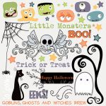 "Fancy Pants - Trick or Treat Rub-ons - 8"" x 8"""