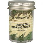 Stampendous Frantage - Aged Embossing Enamel - Green