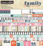 Teresa Collins Designs - Family Stories - 6x6 Paper Pad