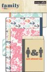 Teresa Collins Designs - Family Stories - 4 File Folders