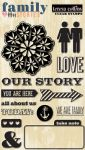 Teresa Collins Designs - Family Stories - Clear Stamps